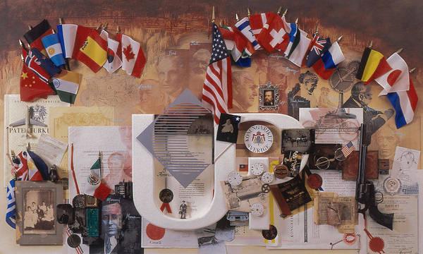 John Michael Wright Wall Art - Mixed Media - A History Of Invention by Chuck Hamrick