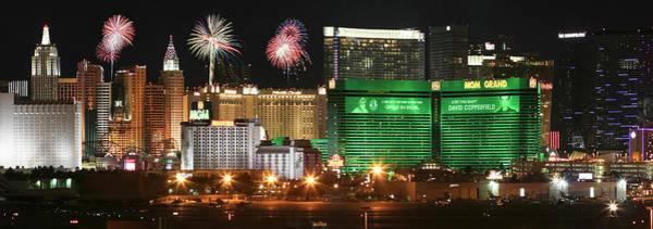 Wall Art - Digital Art - A Holiday Celebration In Las Vegas, Nevada, Usa by Derrick Neill