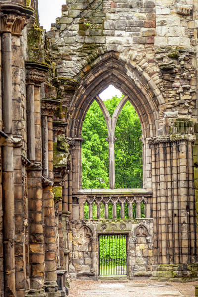 Holyrood Photograph - A Holyrood Window by W Chris Fooshee