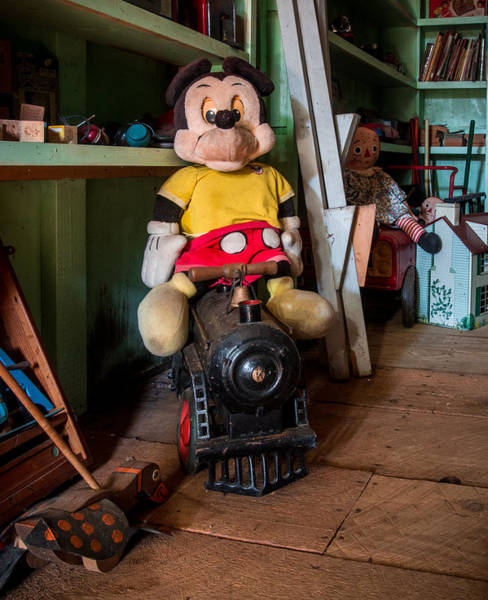 Walt Disney Word Photograph - A Home For Mickey 2 by Lisa Bell