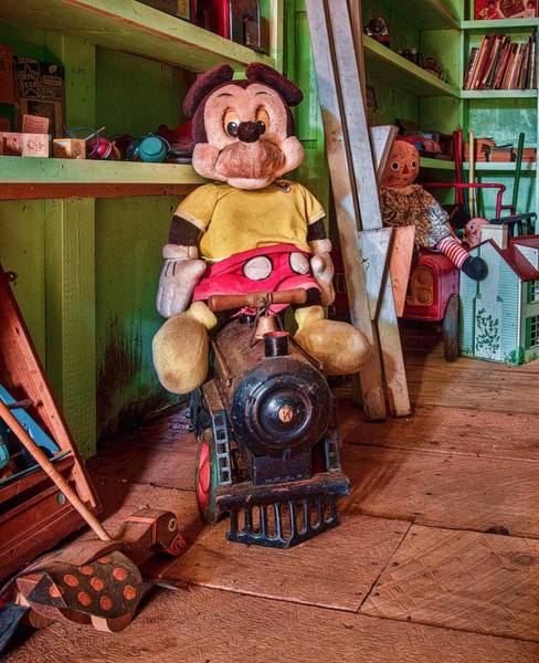 Walt Disney Word Photograph - A Home For Mickey 3 by Lisa Bell