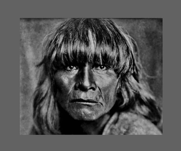 Photograph - A Hopi Man by John Feiser