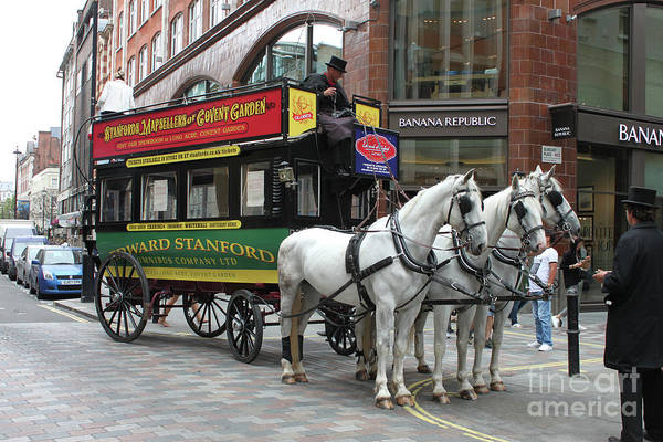 Photograph - A Horse Drawn Bus - Doc Braham - All Rights Reserved. by Doc Braham