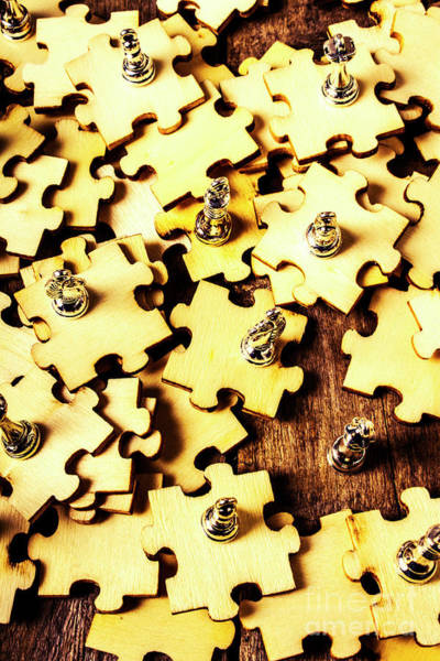 Wall Art - Photograph - A Jigsaw In Conquest by Jorgo Photography - Wall Art Gallery