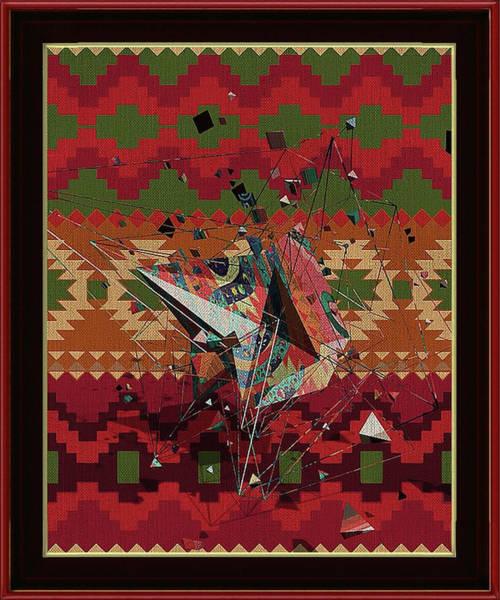 A La Kandinsky C1922 Art Print