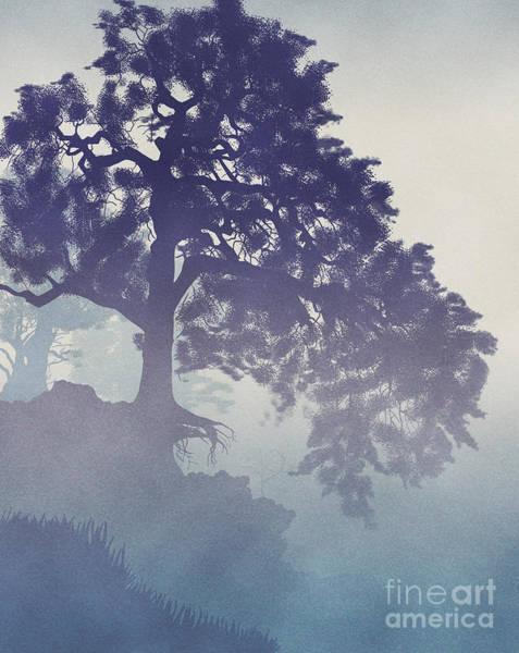 California Oak Digital Art - A Lesson Of Endurance by Lawrence Klimecki