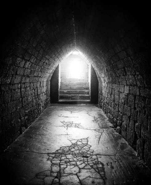 Northumbria Photograph - A Light At The End Of The Tunnel by Philip Openshaw