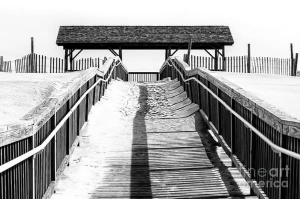 Down The Shore Photograph - A Line To The Beach On Long Beach Island by John Rizzuto