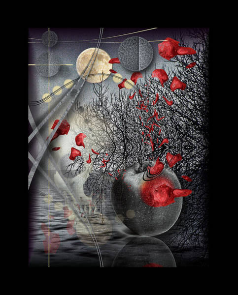 Reborn Wall Art - Digital Art - A Little Bit Of Death Between The Worlds by Mimulux patricia No