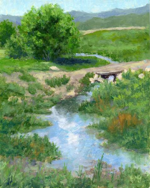Ditch Painting - A Little Ditch by David King