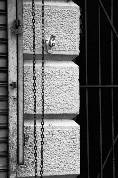 Rusty Chain Wall Art - Photograph - A Little Of Each by Karol Livote