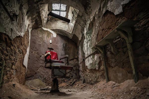Chair Photograph - A Little Off The Top by Kristopher Schoenleber
