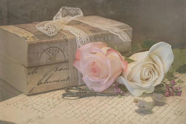 Photograph - A Little Romance 8503 by Teresa Wilson