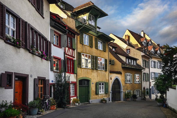 Quaint Photograph - A Little Swiss Street by Carol Japp