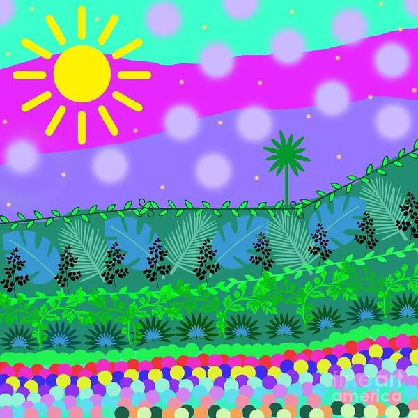 Digital Art - A Little Whimsy by Diamante Lavendar