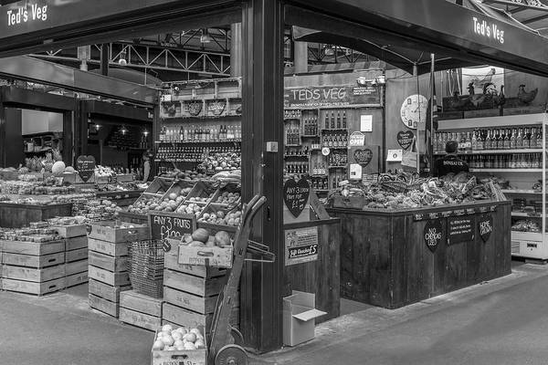Capital Of Georgia Photograph - A London Market In Mono by Georgia Fowler