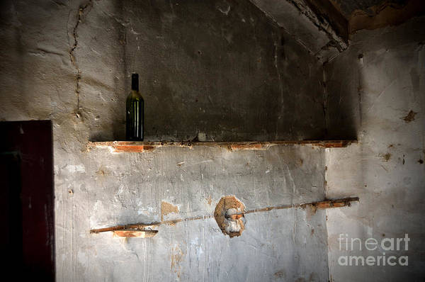 Photograph - A Lonely Bottle In An Abandoned Little House by RicardMN Photography