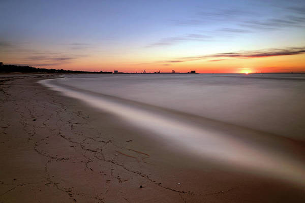 Photograph - A Long Beach Sunrise - Mississippi Gulf Coast - Landscape by Jason Politte