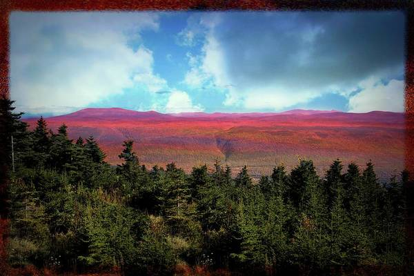 Photograph - A Long View From A Mountain Top. by Rusty R Smith