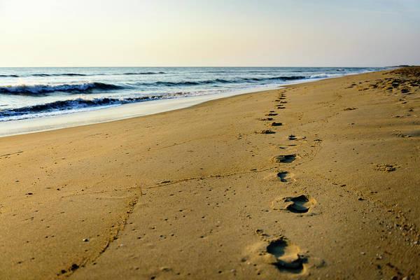 Photograph - A Long Walk by Michael Scott