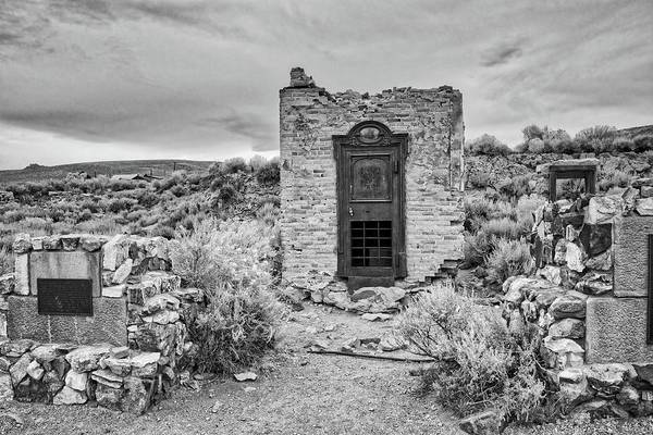 Photograph - A Look To The Past In Black And White by Lynn Bauer