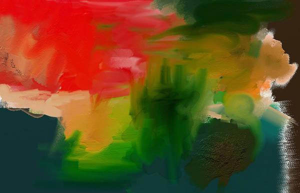 Digital Art - A Loose Mess by Shelli Fitzpatrick