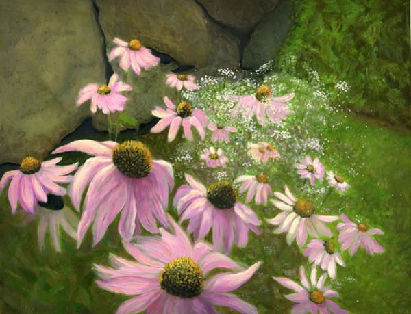 Flagstaff Painting - A Lovely Garden by Karyn Robinson
