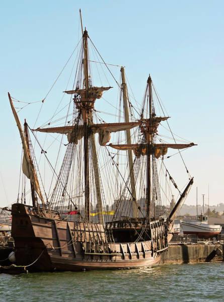 Cabrillo Photograph - A Maritime Museum Of San Diego San Salvador Shot, California, Usa by Derrick Neill