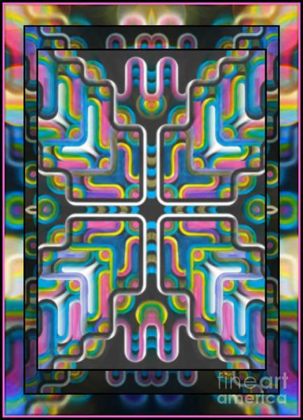 Mixed Media - A-maze by Wbk