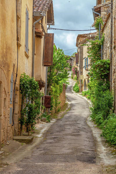 Wall Art - Photograph - A Medieval Lane In Bruniquel  by W Chris Fooshee