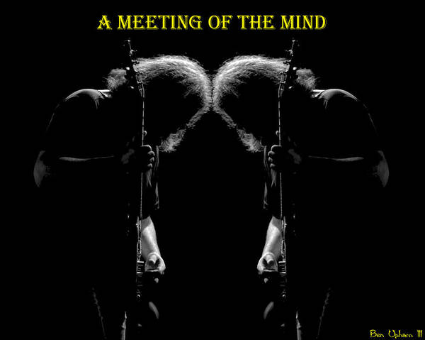 Photograph - A Meeting Of The Mind by Ben Upham