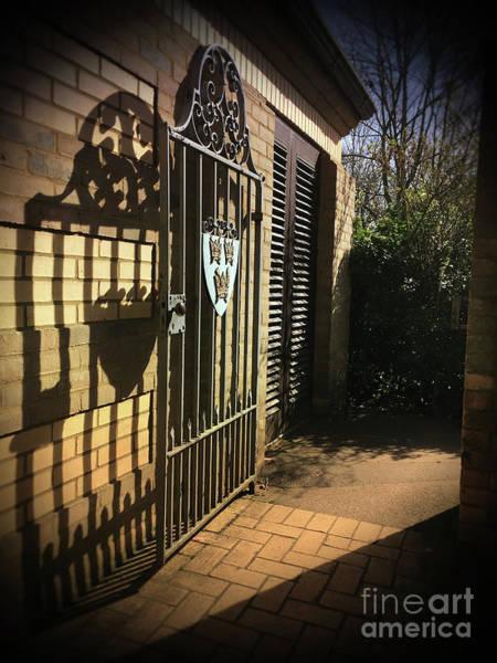 Wall Art - Photograph - A Metal Gate by Tom Gowanlock