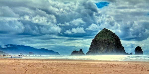 Photograph - A Misty Cannon Beach by David Patterson