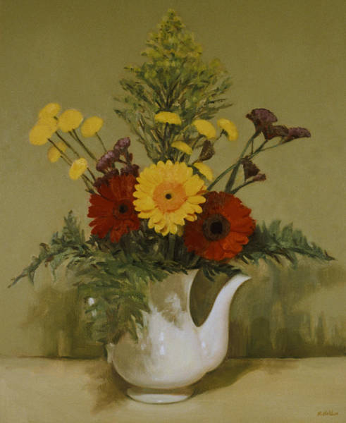 Made In Japan Wall Art - Painting - A Mixed Bouquet by Robert Holden