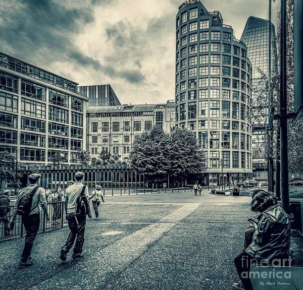 Photograph - A Moment In Southwark, London. by Nigel Dudson