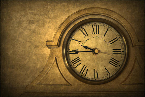 Times Wall Art - Photograph - A Moment In Time by Evelina Kremsdorf