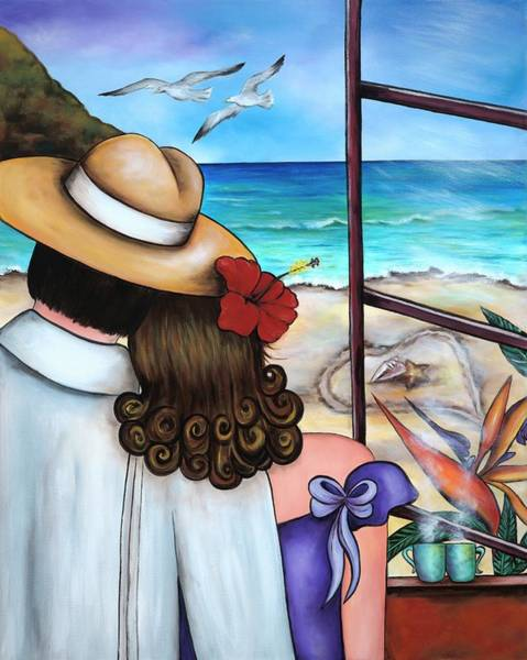 Wall Art - Painting - A Moment Like This by Annie Maxwell