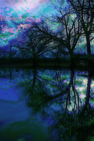 Monet Photograph - A Monet Kinda Day by Julie Lueders