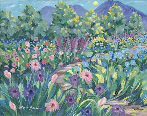 Painting - A Monet Moment by Linda Rauch