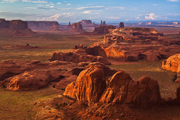 Navajo Indian Reservation Photograph - A Monumental View by Guy Schmickle