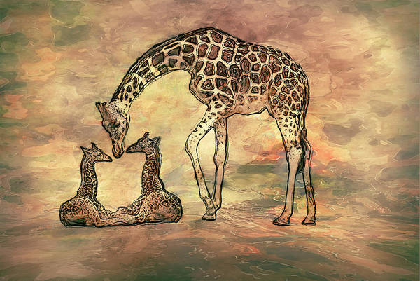 Wall Art - Painting - A Mothers Love by Jack Zulli