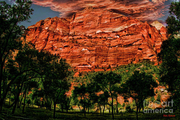 Photograph - A Mount Zion National Park Utah View by Blake Richards