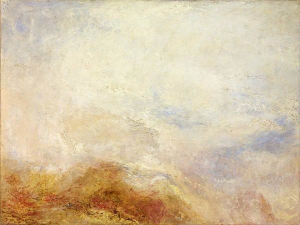 Painting - A Mountain Scene by William Turner