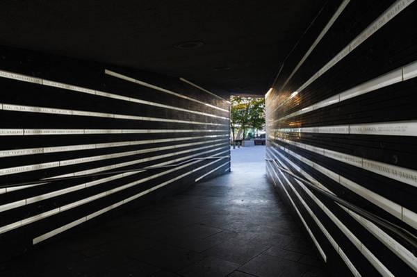 Photograph - A Moving Remembrance - The Irish Hunger Memorial In Manhattan New York City U S A by Georgia Mizuleva