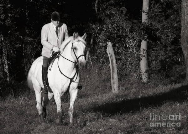 Photograph - A Muddy Hunt In Black And White by Angela Rath
