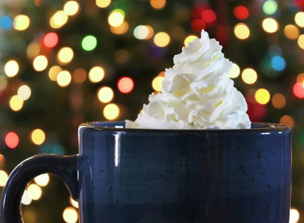 Wall Art - Photograph - A Mug Of Hot Chocolate At Christmas by Derrick Neill