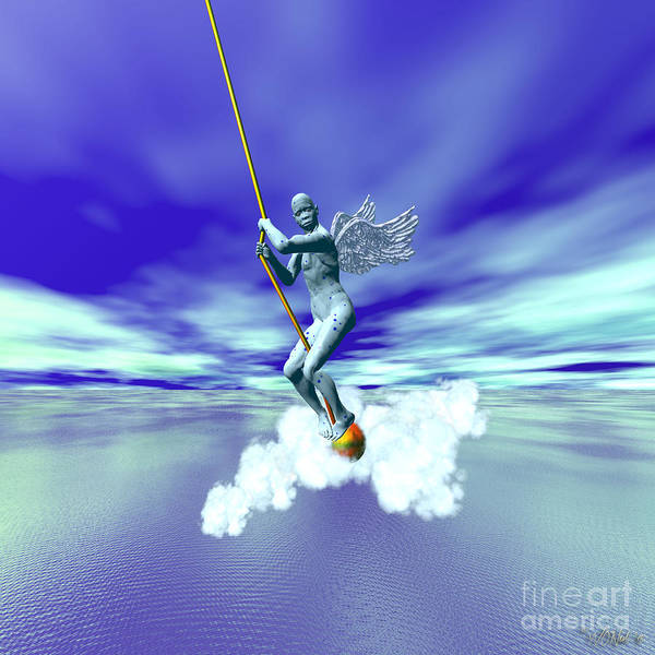 Digital Art - A Myth Is A Story With Wings by Walter Neal