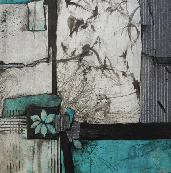 Abstract Flower Mixed Media - A Natural Cause And Effect  by Laura Lein-Svencner