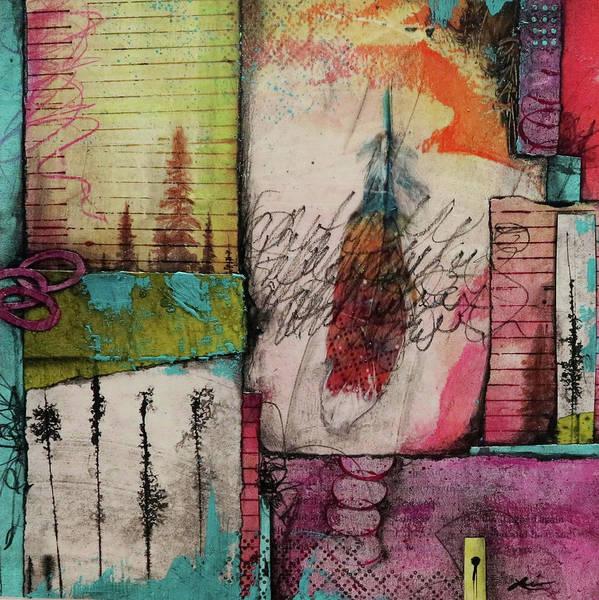 Dot Mixed Media - A Natural Thing by Laura Lein-Svencner