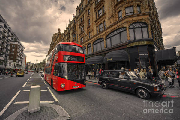 Wall Art - Photograph - A New Bus For London by Rob Hawkins